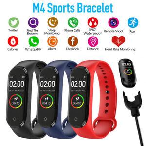 Waterproof Smart Watch Strap Girls Men Women Sports Gym Fitness Health Tracker