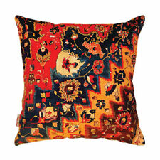 """Persian Rug Inspired Multi Coloured Bird Cushion Cover 43x43cm-16""""x16""""-50%OFF..."""