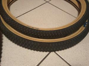 "Old School Bmx SE Racing Cub Tyre Paire 24"" x 2.0 Black Skinwall"