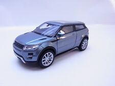 47774 Welly Land Rover Range Rover Evoque L538 ab 2011 silbergrau PKW 1:38 NEU