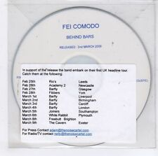 (GJ756) Fei Comodo, Behind Bars - 2009 DJ CD