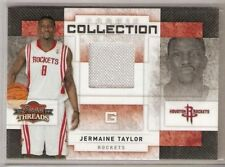 JERMAINE TAYLOR JERSEY ROOKIE 2009-10 PANINI THREADS SERIAL #/250 UCF ROCKETS