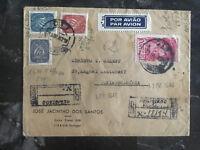 1946 Lisbon Portugal cover to Sofia Bulgaria Commercial