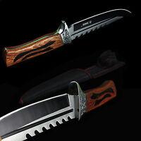 Couteau de chasse KANDAR RAMBO 30 cm  -Survival Knife 8CR13MOV Aus-8 ND68
