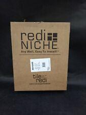 Tile Redi USA RN1620D Redi Shower Niche Shelving Unit 16 x 20 Black