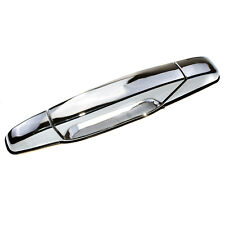 Exterior Chrome Door Handle Rear Left for 07-13 Chevrolet GMC Cadillac 22738725