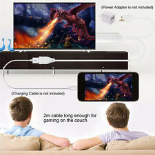 HD Digital Audio Video Adapter Cable TV Stick MHL to HDMI for iPhone iPad