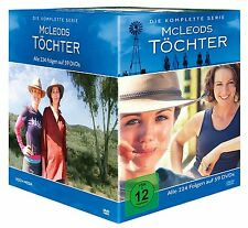 McLeods Daughters complete TV series,  season 1-8 PAL 1 + 2 +3 + 4 + 5 + 6 +7+8