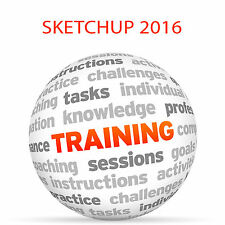 SKETCHUP 2016 - Video Training Tutorial DVD