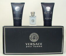 VERSACE POUR HOMME EAU DE TOILETTE 5 ML. 0.17 FL.OZ. + SHOWER GEL + AFTER SHAVE