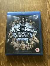 Wrestlemania 25th Anniversary 2 Disc Set (Blu-ray Disc, 2009)
