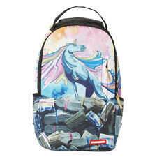 Sprayground NEW Men's Unicorn Money Rolls Backpack - Blue BNWT