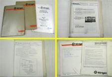 Wirtgen SF 500 1000 C C4 CA Schulungshandbuch Werkstatthandbuch 1980er Jahre