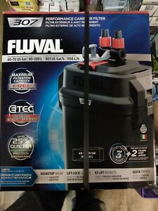 BOX HAS DAMAGE New Fluval 307 330L Performance Canister Filter
