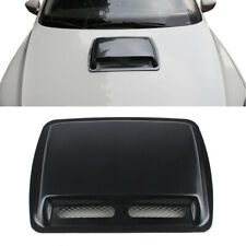 ABS Auto Car Decorate Air Flow Intake Scoop Turbo Bonnet Vent Cover Hood Carbon