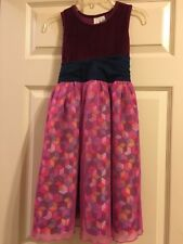 Matilda Jane Miss Fancy Tulle Paint by Numbers Tank Dress Girls Size 8