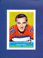 2009 ITG BETWEEN THE PIPES BTP HOCKEY JACQUES PLANTE