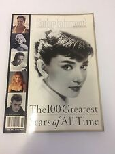 Entertainment Weekly Magazine The 100 Greatest Stars Of All Time Paperback Good
