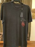 NWT John Varvatos Star USA N.Y. Brawlers Knock Out Double Sided T Shirt Medium