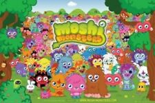 Moshi Monsters Poster Outdoor Scene Of Characters