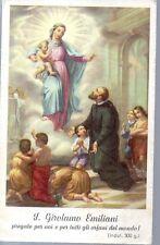 803 S. Girolamo Emiliani  Santino Holycard....