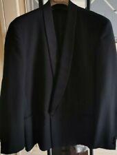 PIERRE CARDIN PARIS Giacca Uomo Smoking Nero Elegante Taglia XL - 52