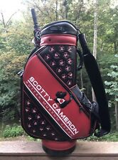 Scotty Cameron Tour Putter Museum Japan Signed Staff Bag With M&G Umbrella Ct