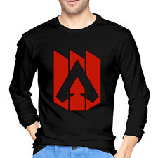 Custom APEX Game Men's Long Sleeve T-Shirts Cotton Crew Neck Blouse Tees Gifts
