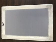 "Aluminum Silk Screen Frame (8X12"" OD) with high quality 158 mesh for screenprint"