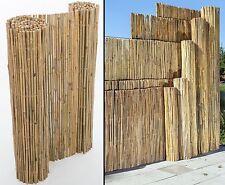 """B-Ware Bambusmatte """"Bali"""" mit 150x300cm, stabil mit Mängel - Sichtschutzzäune"""