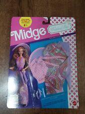 1990 Midge Wedding Day Fashions Unopened Card
