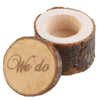 Wedding Ring Box,Wedding Ring Bearer,Rustic Ring Box,Wooden Printed We Do N5O4