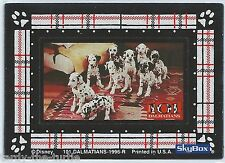101 Dalmatians Movie Refrigerator Magnet 4 of 4 Trading Chase Card Special Card