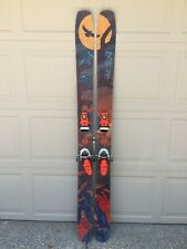 Moment Bibby Skis with FKS 14 bindings 184cm