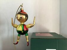 """Pinochio"" 6.5"" Slavic Treasures D02-1118 (Extreme FreeBlown Ornament) Nib"