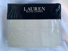 Ralph Lauren Kingl Sheet Set Oat Beige Dunham Sateen 300 tc 4 Pc Set Pillowcase