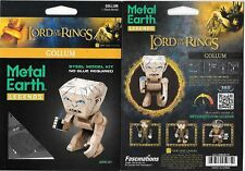Lord of The Rings Gollum Metal Earth Legends 3-D Laser Cut Steel Model Kit New