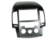 Autoradio Blende Doppel DIN Radioblende für Hyundai i30 ab 2008 mit. man. Klima