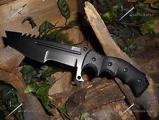 M-tech extreme/Knife/Bowie/Blade/440C/MOLLE/Survival/Combat/Tactical/Zombie/BLK