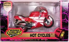 1993 Road Champs Hot Cycles 1:18 Yamaha  RC10 750cc Red Motorcycle In Box
