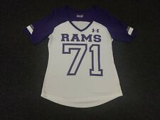 Los Angeles Rams NFL Womens Under Armour Semi Fitted Large Heat Gear V-Neck