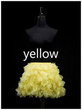 Lady Tulle Tiered Tutu Skirts Mesh Layer Pettiskirt Costume Dance Clubwear Adult