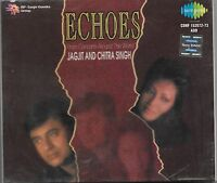 ECHOES FROM CONCERTS AROUND THE WORLD - JAGJIT & CHITRA  - BRAND NEW 2CDs