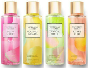 Victorias Secret Fragrance Body Mist Summer Spritzer Scents Limited Perfume