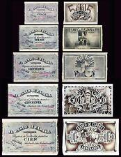 Facsimil Serie de 1936 Santander - Reproductions