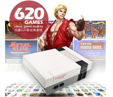 620 Games Built-in Upgraded Mini Retro Video Game Console + 2 Controllers 8 Bit