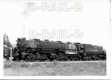 8EE776 RP 1952 UNION PACIFIC RAILROAD 4-6-6-4 LOCO #3812 POCATELLO IDAHO