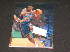 MARCUS CAMBY KNICKS CERTIFIED GENUINE AUTHENTIC NBA BASKETBALL JERSEY CARD