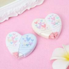 10M Kawaii Love Heart Correction Tape Student Stationery Office School Supplies