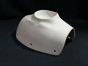 Vintage Bisque Porcelain Doll Shoulder Plate Bell Ceramics MM5070 1996 LARGE